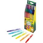 Crayola: 21 darabos illatos, csavarható viaszkréta