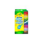 Crayola: 24 markere lavabile subţiri