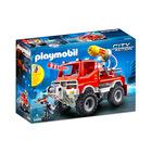Tűzoltóautó fecskendővel - 9466