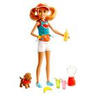 Barbie Sisters: Păpuşa Stacie cu căţeluş