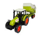 Claas: Traktor utánfutóval 36 cm