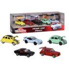 Majorette: Maşinuţe Vintage - set cu 5 maşinuţe