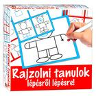 Învăţ să desenez pas cu pas - ursuleţ - educativ în lb. maghiară