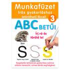 Scrie şi şterge: Literele alfabetului - caiet de lucru în lb. maghiară