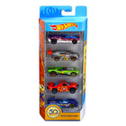 Produs promoțional: Hot Wheels 50th Anniversary Favorites: set de 5 mașinuțe - Track Stars