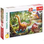 Trefl: dinoszauruszok 60 darabos puzzle