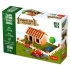Brick Trick: Casă din mediul rural din cărămiduţe - set de construcţie