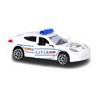 Majorette: Porsche Panamera rendőrautó - román feliratos