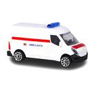Majorette: Renault Master ambulanţă cu inscripţie în lb. română