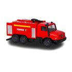 Majorette: Mercedes-Benz tűzoltóautó - román feliratos