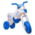Motocornis motocicletă fără pedale - maxi, sidef-albastru