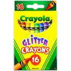 Crayola: Csillámos viaszkréta - 16 darabos - CSOMAGOLÁSSÉRÜLT