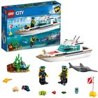 LEGO City: Iaht pentru scufundări 60221