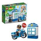 LEGO DUPLO: Motocicletă de poliție 10900