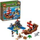 LEGO Minecraft: Aventura corabiei de pirați 21152