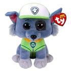 TY Beanie Babies: Mancs őrjárat plüssfigura - Rocky, 24 cm