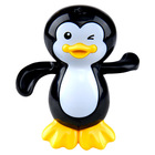 Vidám úszó bébipingvin