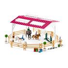 Schleich: lovaglóiskola lovas lányokkal és lovakkal 42389