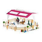 Schleich: Școală de călărie cu călăreți și cai