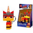 LEGO Movie 2: Unikitty supărat - breloc cu lumină