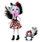 EnchanTimals: Păpuşă Sage Skunk cu blană
