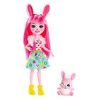 Enchantimals: szőrmés Bree Bunny figura