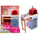Barbie: Set accesorii - petrecere cu pizza