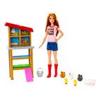 Barbie karrierista szettek: farmerlány