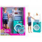 Barbie: szőke hajú Ken baba mosógéppel