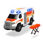 Dickie Toys: ambulanţă cu targă