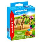 Playmobil: Kislány pónival 70060