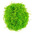 Húsvéti dekorációs fű zöld - 50g