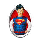Rubine: Justice League - Costum Superman premium cu mască de hârtie, 95-125 cm