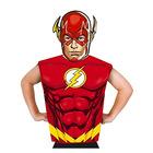 Rubine: Justice League - Costum Flash premium cu mască de hârtie, 95-125 cm