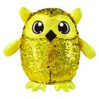 Shimmeez: figurină bufniţă - 20 cm, auriu-roşu