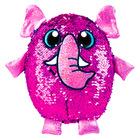Simiflitter: elefánt figura - 20 cm, pink - kék