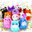 Pomsies Poos mini állatkák kulcstartó - 7 cm, többféle
