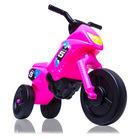 Műanyag kismotor, kicsi, rózsaszín