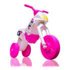Műanyag kismotor, maxi, gyöngyház szín -rózsaszín