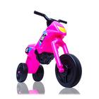 Műanyag kismotor, maxi, rózsaszín