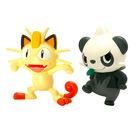 Tomy: Pokémon Meowth és Pancham figura