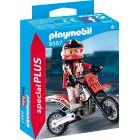 Playmobil: Figurină motociclist - 9357