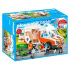 Playmobil: Ambulanța cu lumină și sunet - 70049