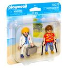 Playmobil: Doktor és páciens 70079