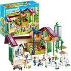 Playmobil: Farm és siló nagy játékszett - 70132