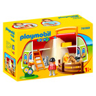 Playmobil 1.2.3.: Hordozható lovardám 70180