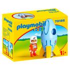 Playmobil 1.2.3.: Űrhajós rakétával 70186