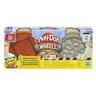 Play-Doh: Kerekek - tégla és kő gyurmakészlet