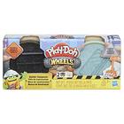 Play-Doh: Kerekek - aszfalt és cement gyurmakészlet