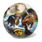 Dinosaur World: minge cauciuc - 23 cm